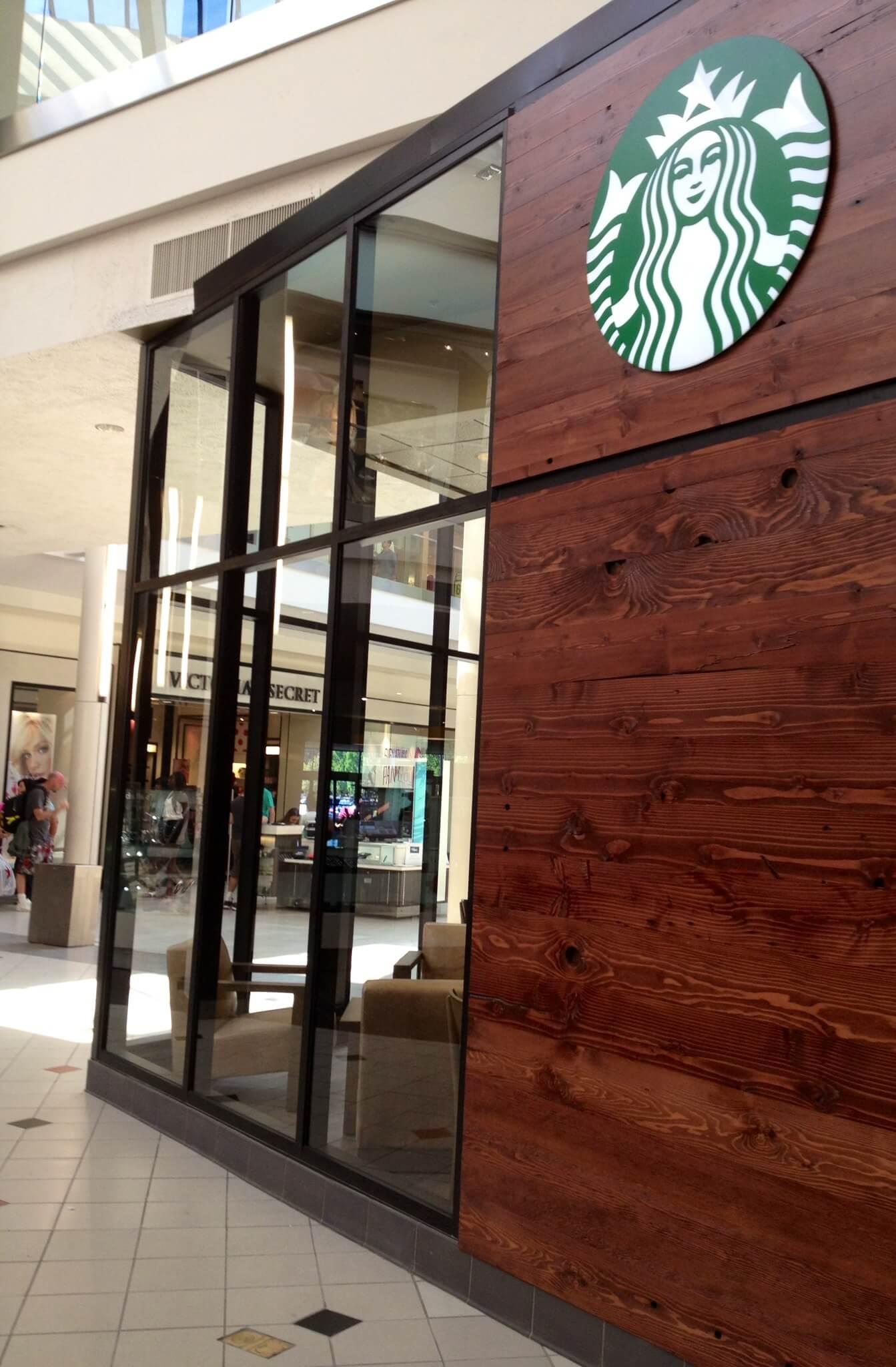 Starbucks Storefront Vancouver Mall